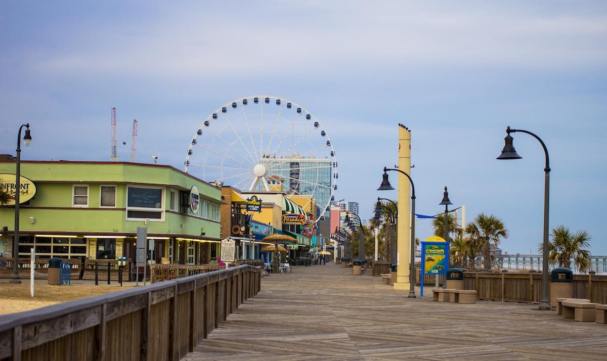 Myrtle Beach South Carolina boardwalk 2
